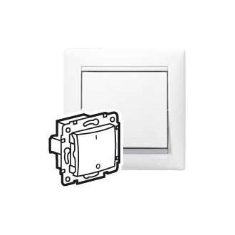 Переключатель трехполюсный для люминесцентных ламп белый, Valena (комплект 10 шт.)