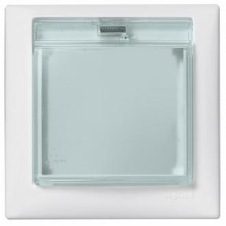 Рамка влагозащищенная IP44 белый, Valena