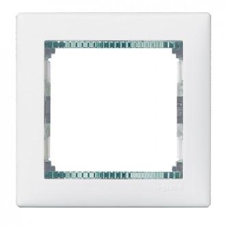 Рамка белый/кристалл, Valena
