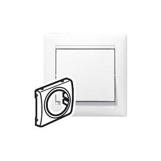 Лицевая панель универсальная белая, Valena (комплект 10 шт.)
