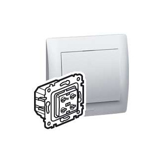 Cветорегулятор кнопочный 40-600 Вт, Galea Life