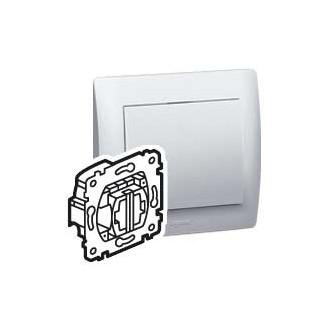 Выключатель кнопочный для рольставней с блокировкой двухклавишный, Galea Life