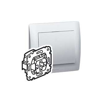 Выключатель кнопочный с индикацией с сухим контактом, Galea Life