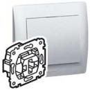 Выключатель кнопочный на два направления с подсветкой, Galea Life (комплект 10 шт.)