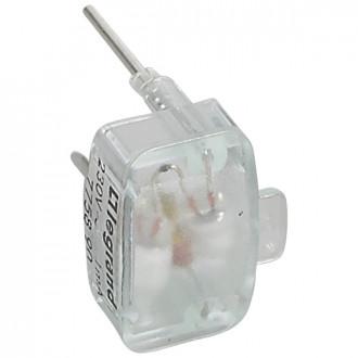 Лампа для подсветки светорегулятора 1 мА зеленая, Galea Life (комплект 10 шт.)