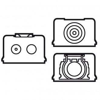Аксессуар для подсоединения кабелей белый, Valena (комплект 10 шт.)
