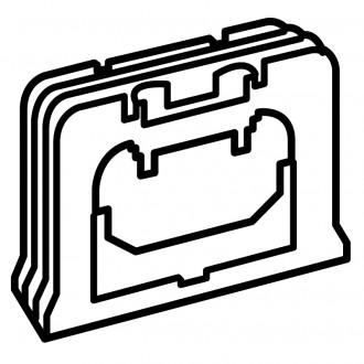 Для вертикального соединения коробок белый, Valena (комплект 10 шт.)