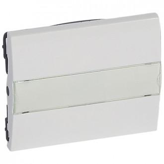Клавиша с держателем этикеток белая, Galea Life (комплект 10 шт.)