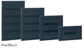 PRACTIBOX3 - новые распределительные щитки скрытого монтажа от 18 до 72 модулей
